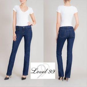 "Level 99 | Chloe Boot jean, dark wash - inseam 27"""